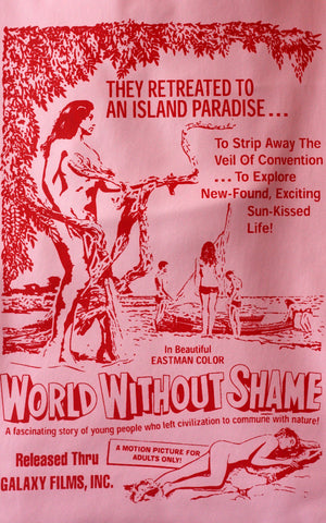 'World Without Shame' Beach Bag