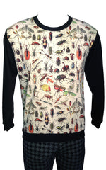 Creepy Crawlies Print Sweatshirt