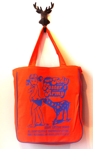 "Jodi Foaster""s Army  Beach Bag"