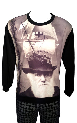 Voyage Of The Mind Print Sweatshirt