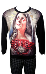 Bloody Mary Print Sweatshirt