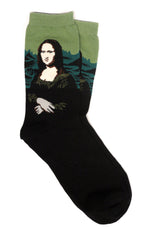 Mona Lisa Da Vinci Socks