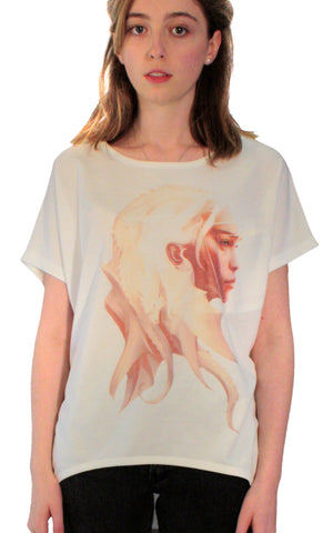 GOT Mother OF Dragons Pocket Tee