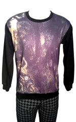 Dark Forest Print Sweatshirt
