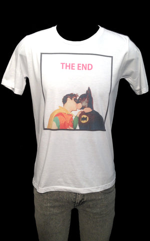 Batman and Robin The End Tee