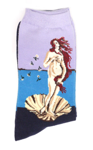 Birth of Venus Botticelli Socks