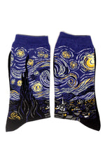Starry Starry Night Van Gogh Socks