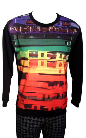 Mix Tape Print Sweatshirt