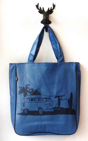 Get In The Van  Beach Bag