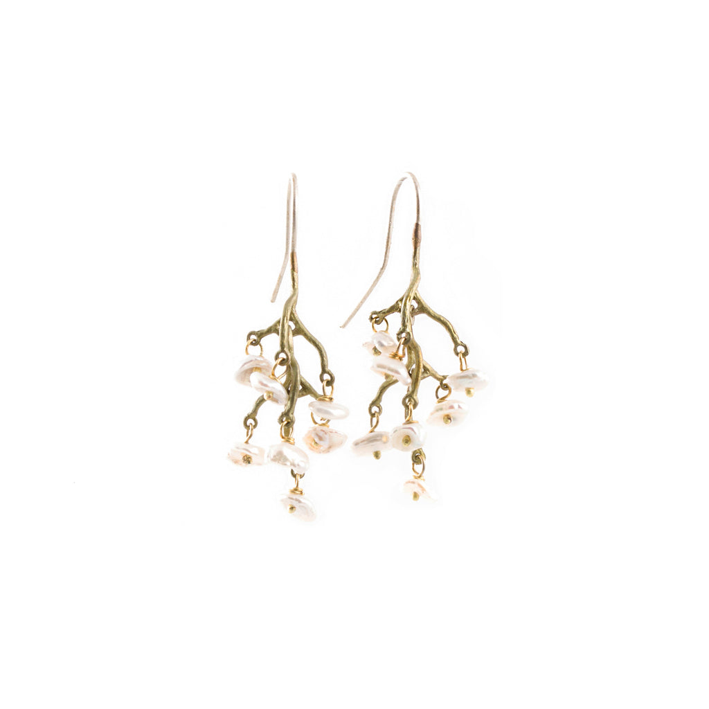Michael Michaud  Lily Of The Valley Earrings