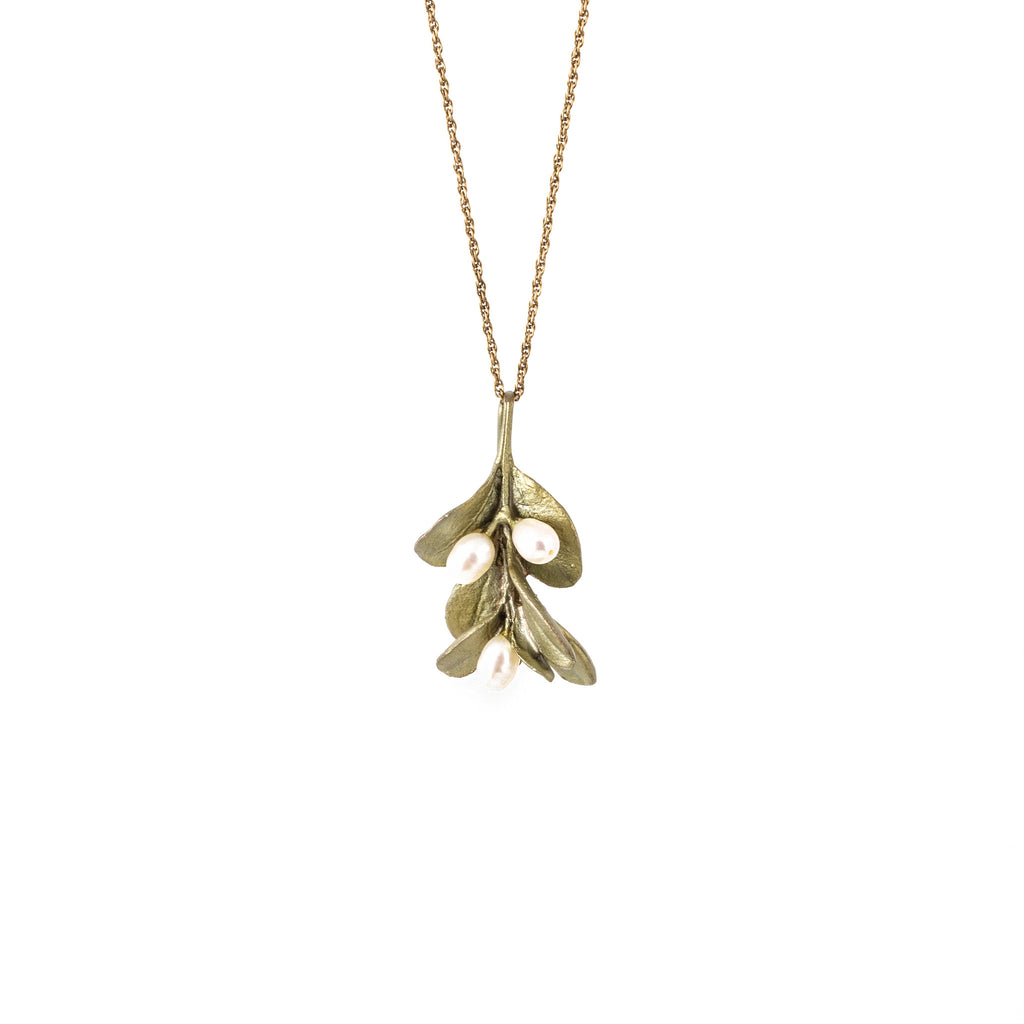 MICHAEL MICHAUD - Boxwood Pendant Necklace