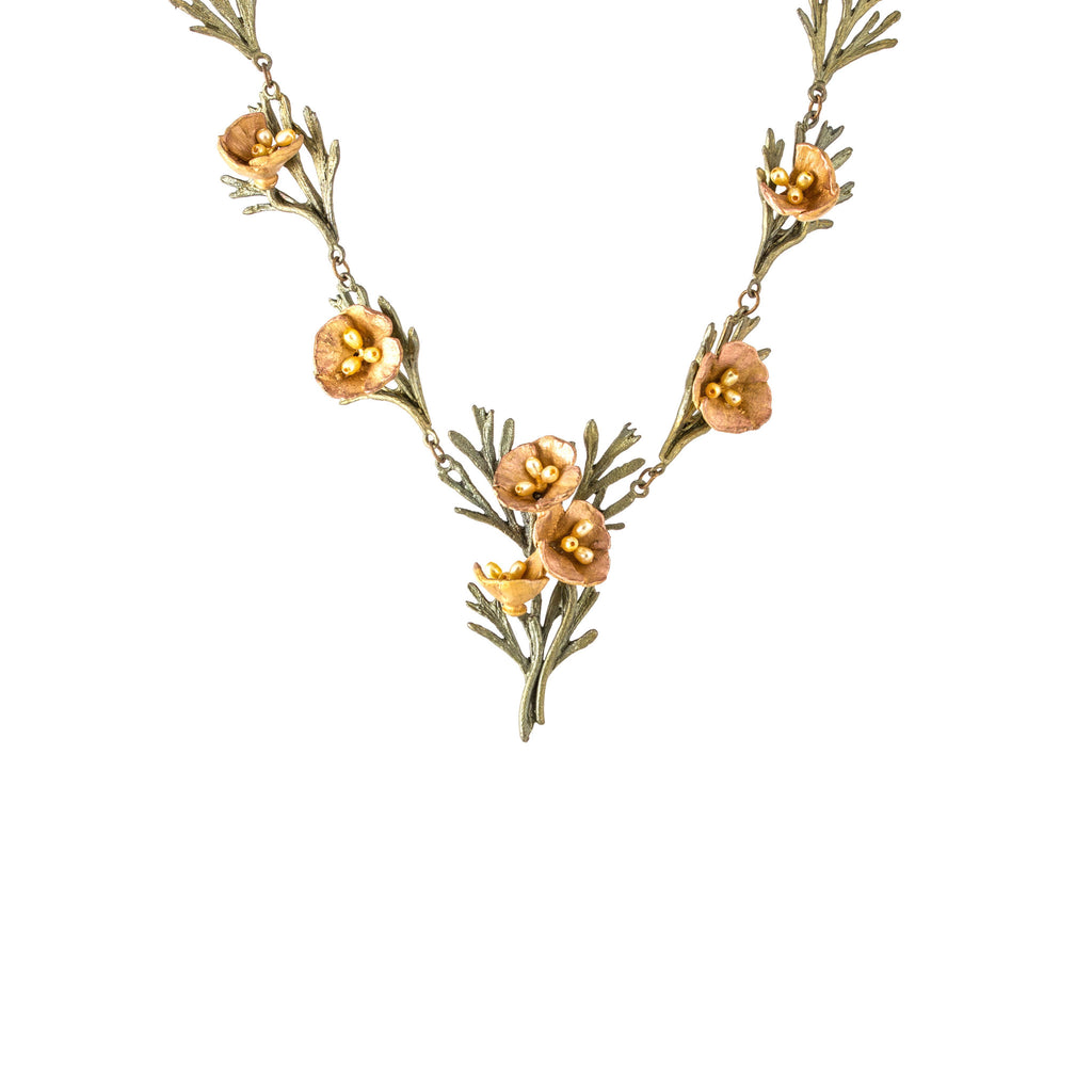 MICHAEL MICHAUD - California Poppy Necklace