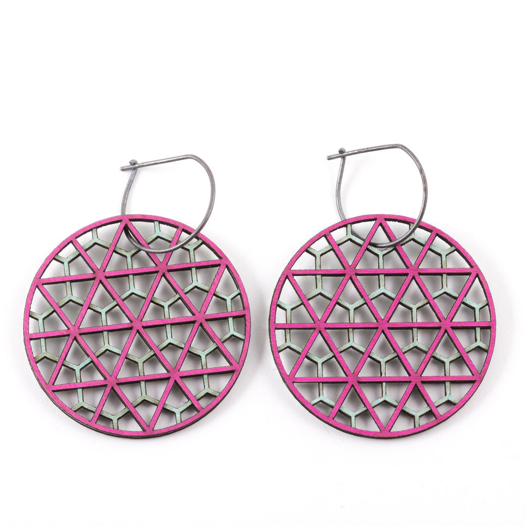 MOLLY M - Triagon Earrings