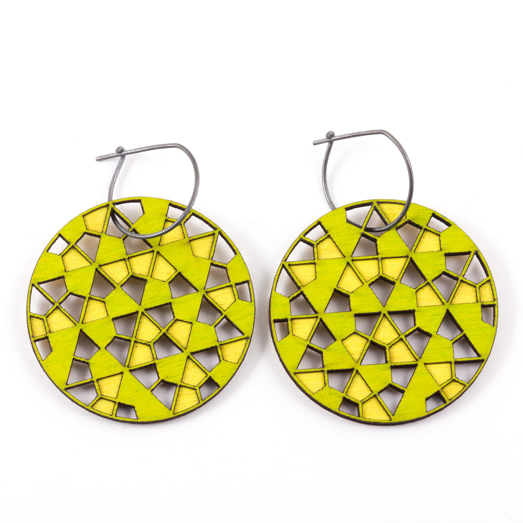 MOLLY M - Hexangle Earrings