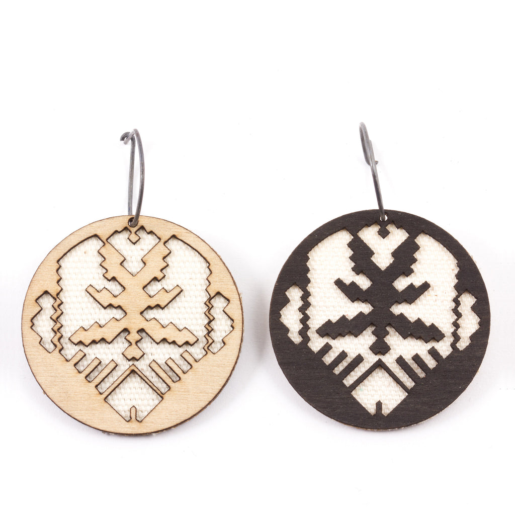 Molly M - Ikat Earrings