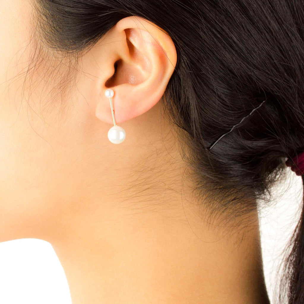 NSC - Double Pearl Stud Earrings