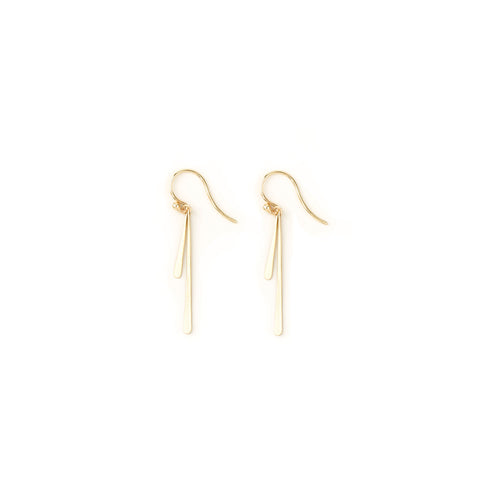 CARLA CARUSO - Double Fringe Drop Earrings - Norbu