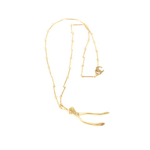 ALKEMIE JEWELRY - Wishbone Necklace - Norbu