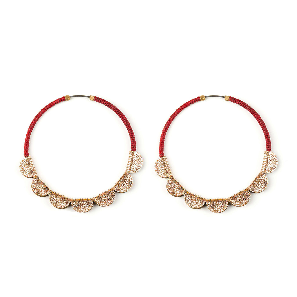 Molly M - Petal Hoop Large