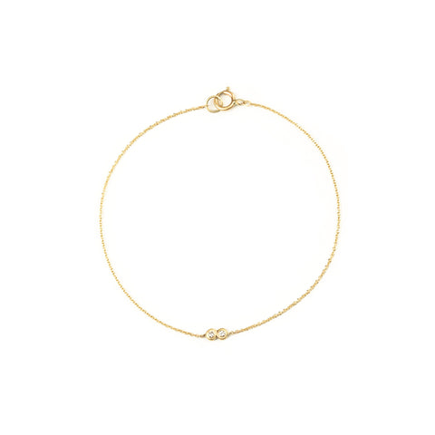 CARLA CARUSO - Lovebirds Diamond Bracelet - Norbu