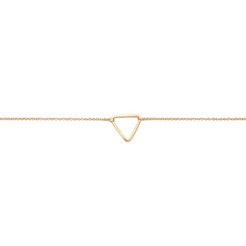 Carla Caruso - Mini triangle bracelet