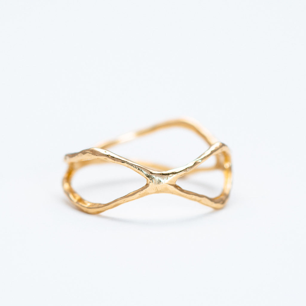 Lio + Linn - Plain Sanctuary Ring