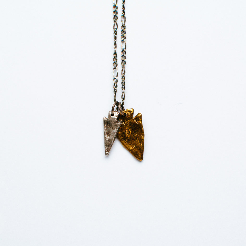 Lio + Linn - Arrow Head Necklace