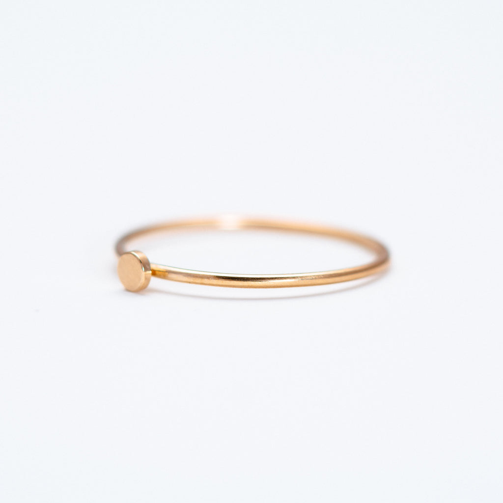 Mute Object - Flat Disc Ring