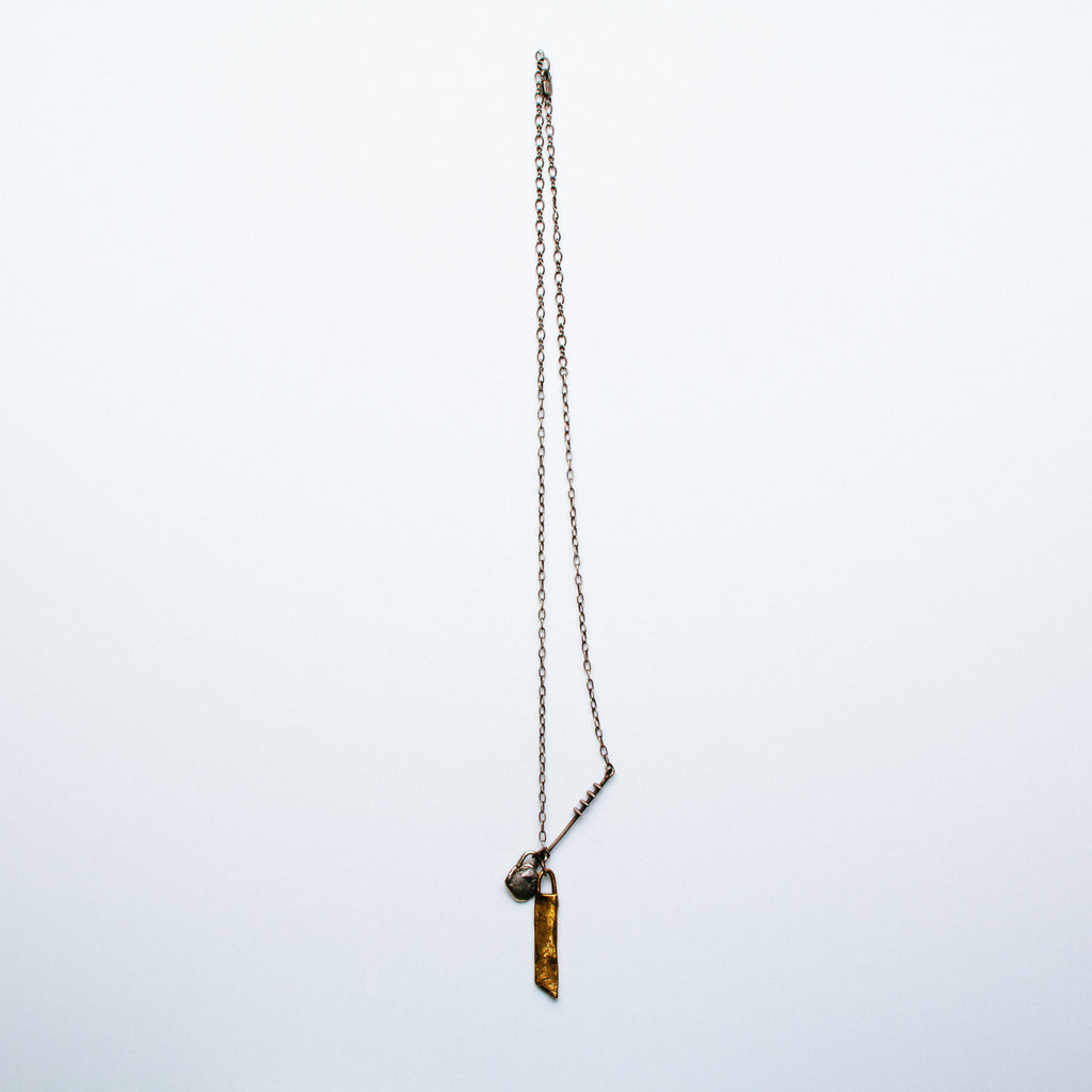 Lio + Linn - Organic Tag Necklace