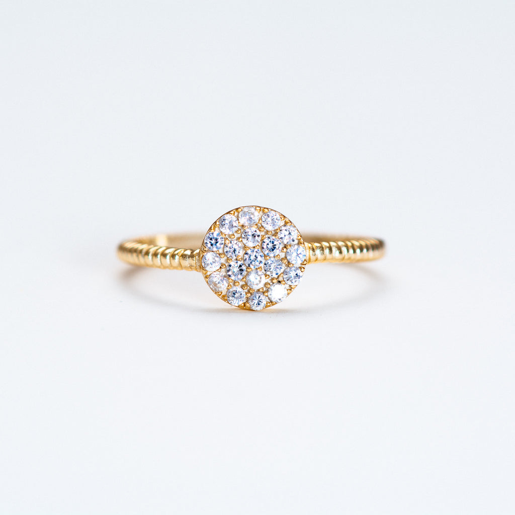 NSC - Round Pave Ring