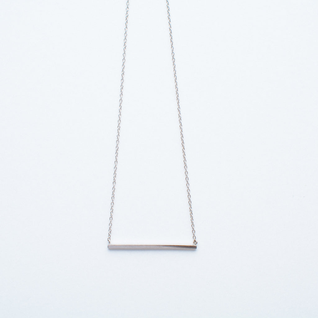NSC - Plain Horizontal Bar Necklace