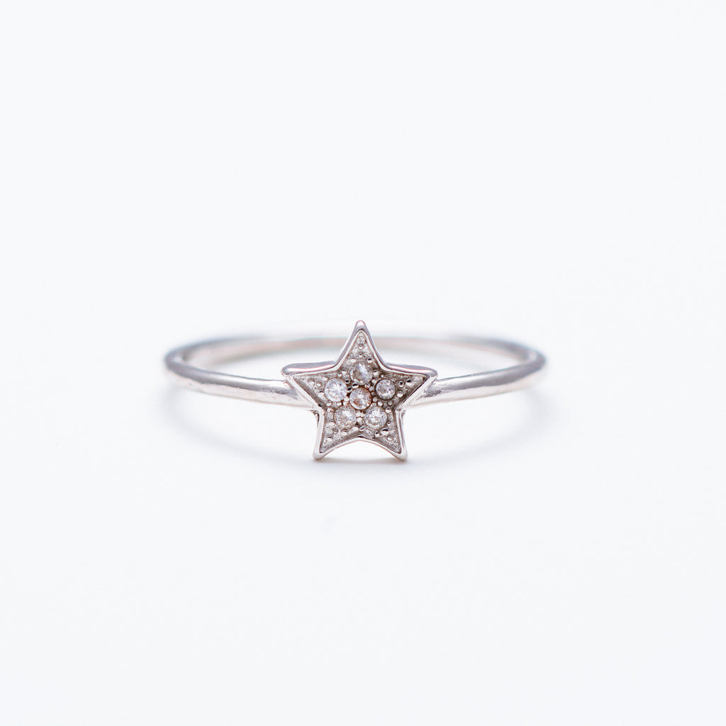 NSC - Star with CZ Ring