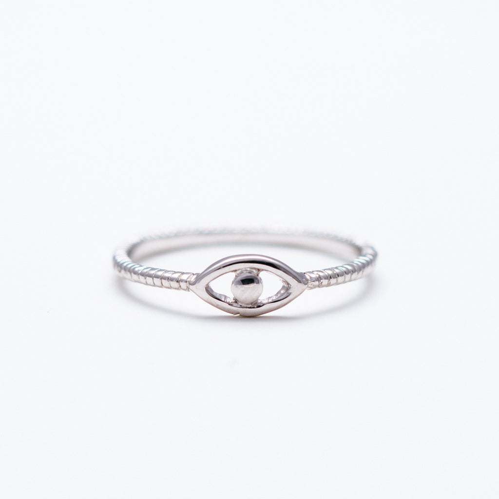 NSC - Plain Evil Eye Ring