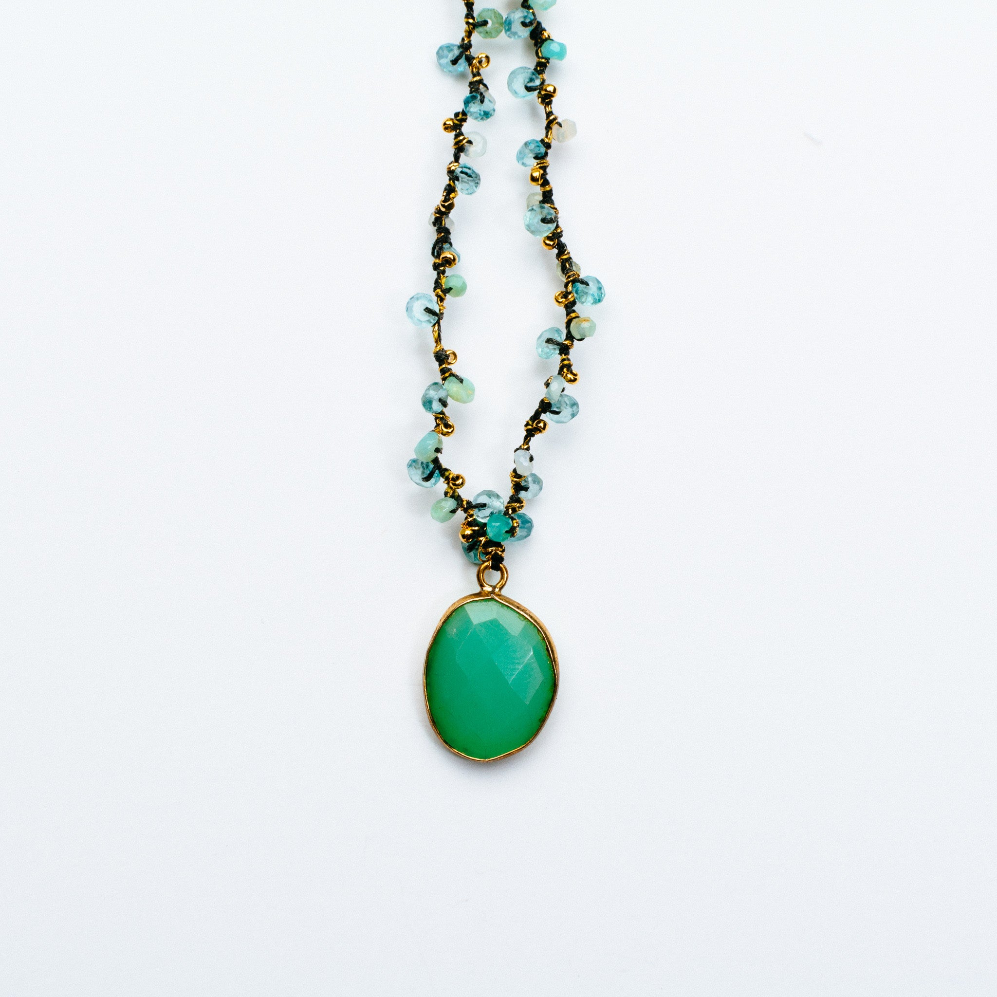 necklace chrysoprase fairley img samara products