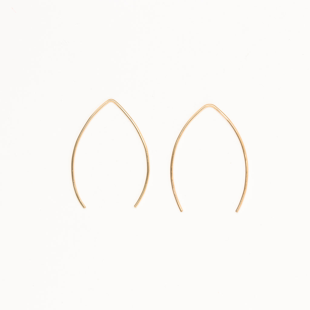 8.6.4 - Large V-Shaped Earrings - Norbu