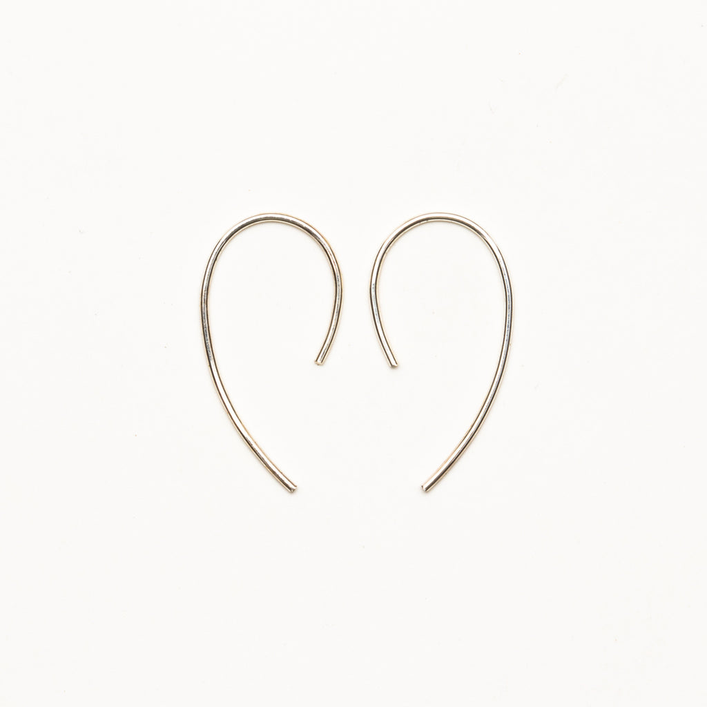8.6.4 - Medium Hook Earrings - Norbu