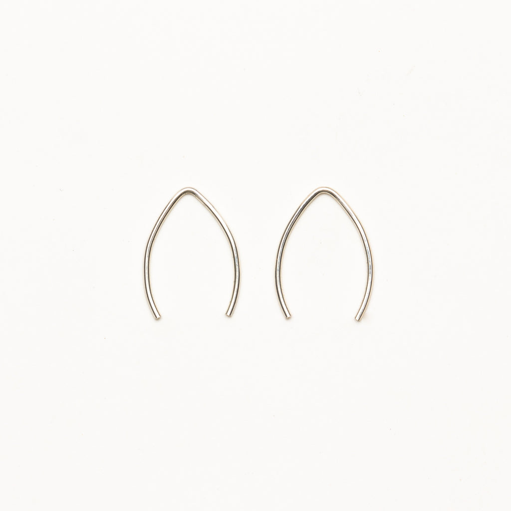 8.6.4 - Small V-Shaped Earrings - Norbu