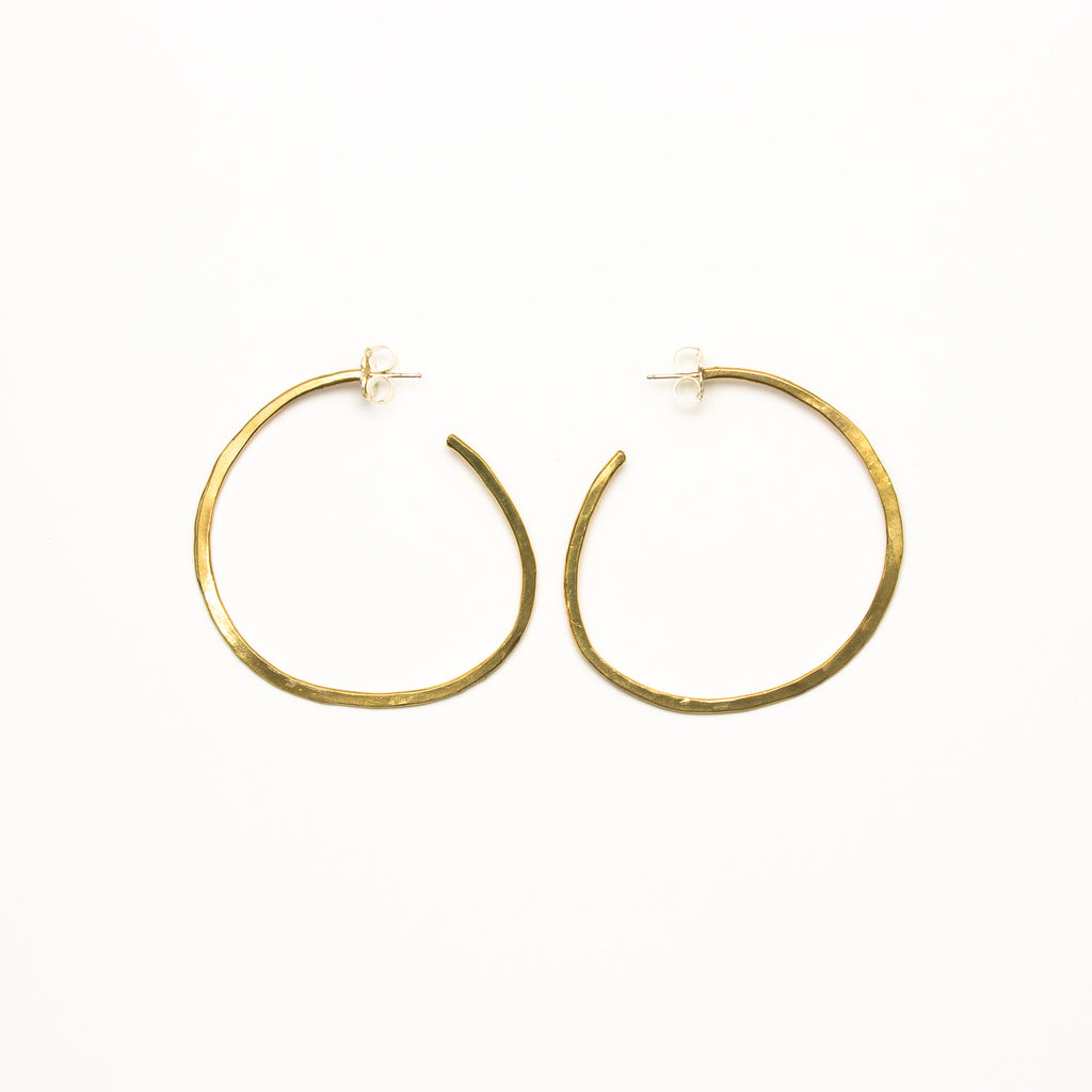 Satomi Studio - Arc Hoop Earrings