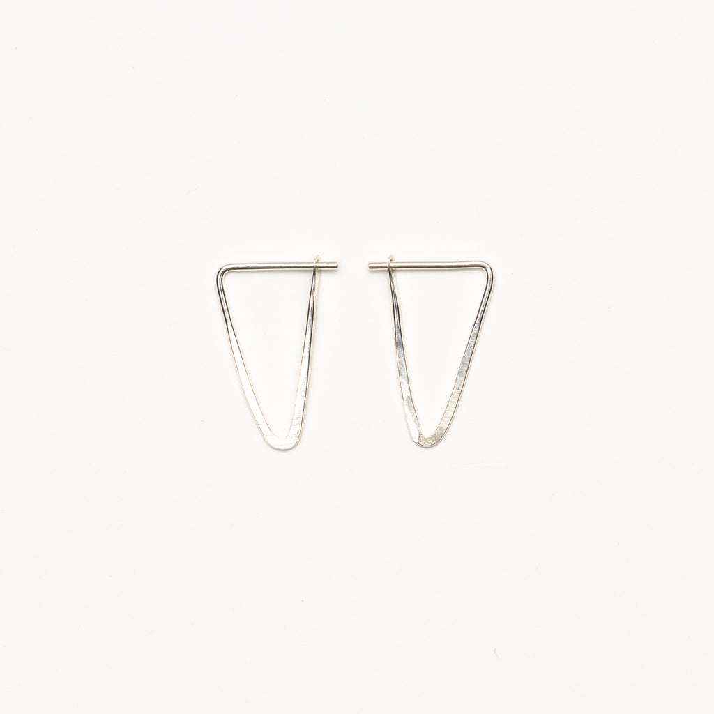 Satomi Studio - Small Triangle Hoops SS