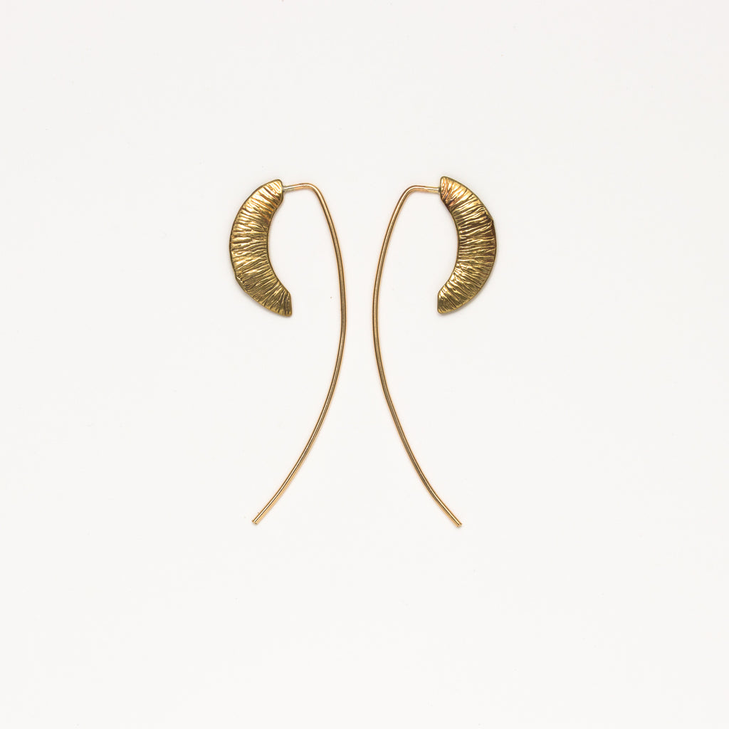 Satomi Studio - Isis Stem Earrings