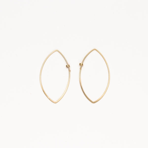 Carla Caruso - Small dainty marquis hoops