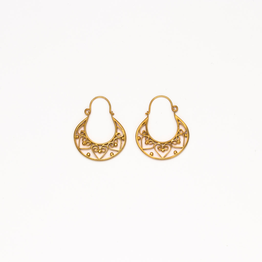 Dream Mullick - Love Basket Earrings