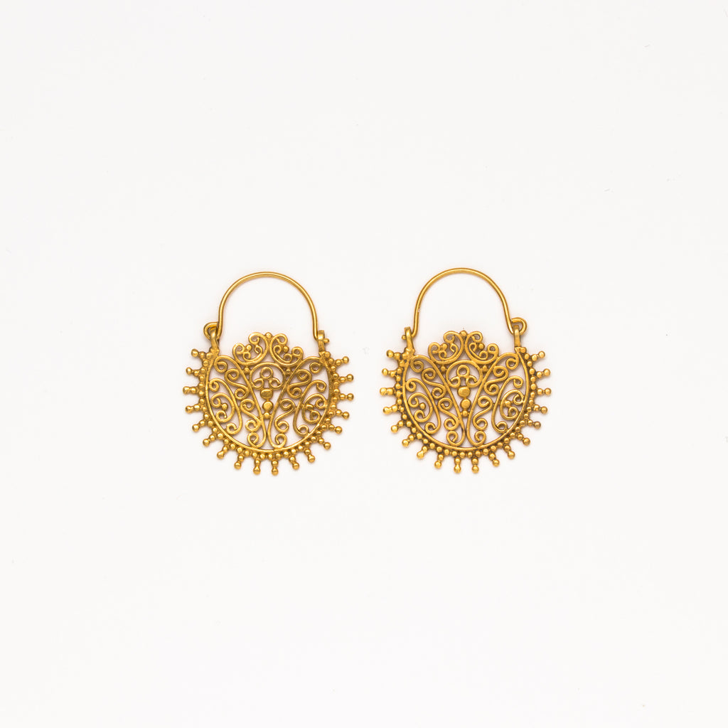 Dream Mullick - Bali Basket Earrings