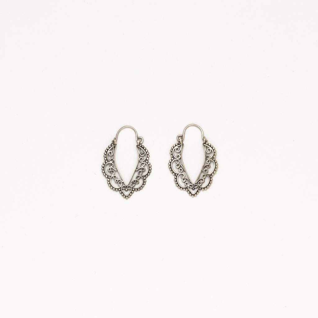 Dream Mullick - Small Tropical Sun Hoops