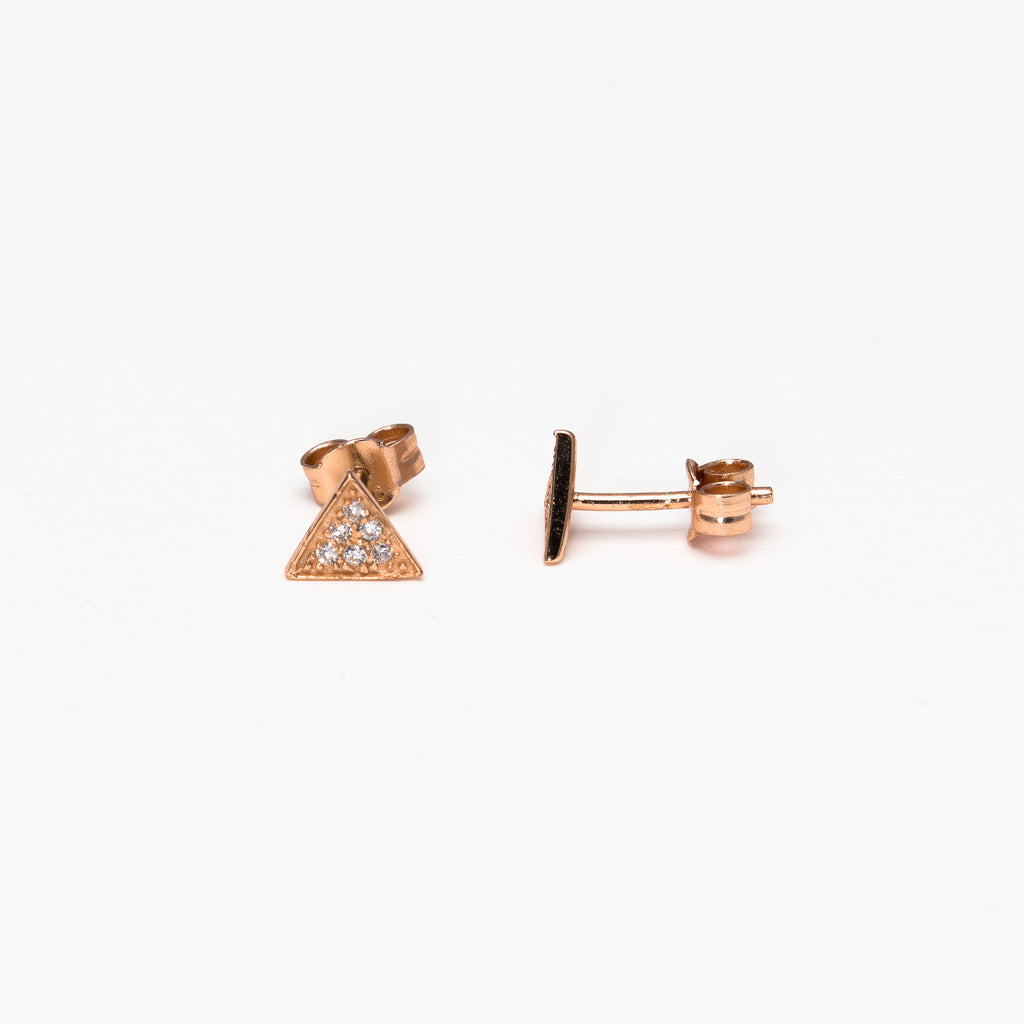 NSC - Triangle Post Earrings