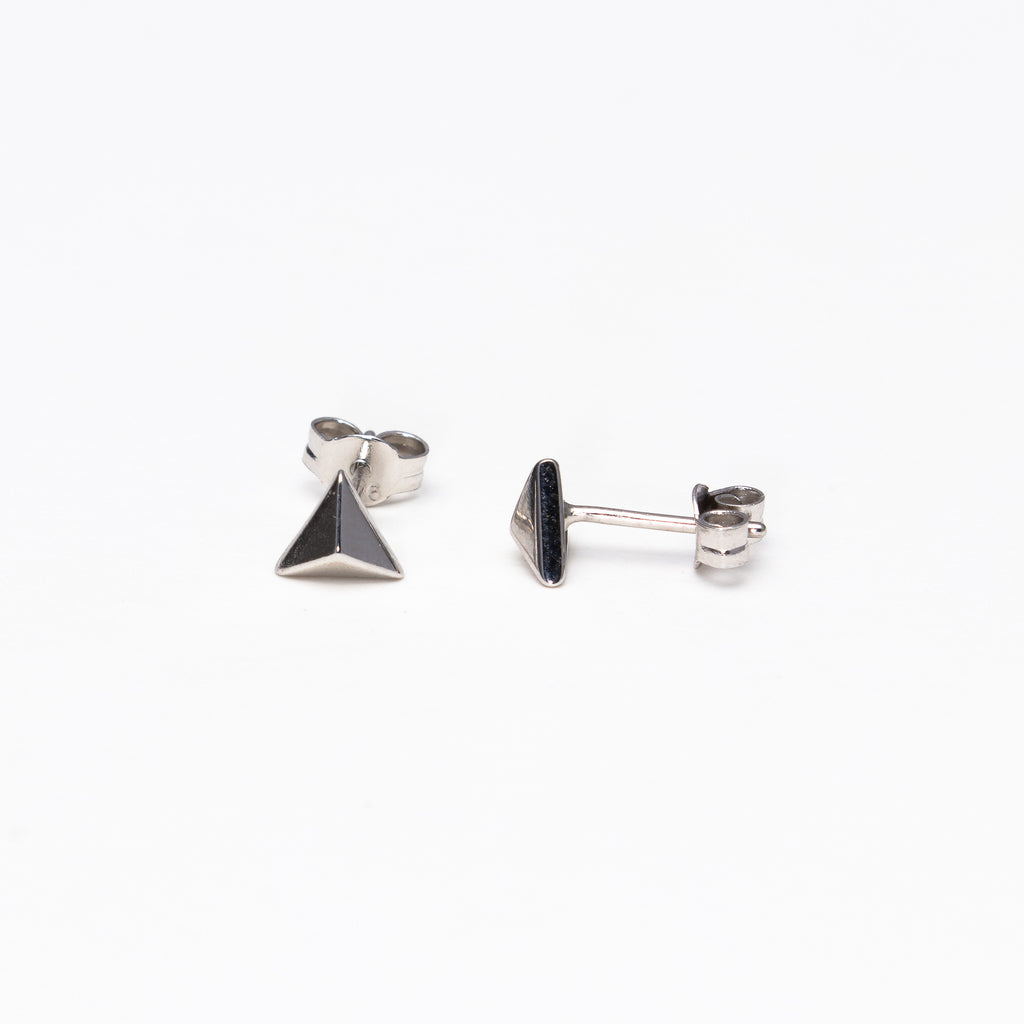NSC - Pyramid Post Earrings