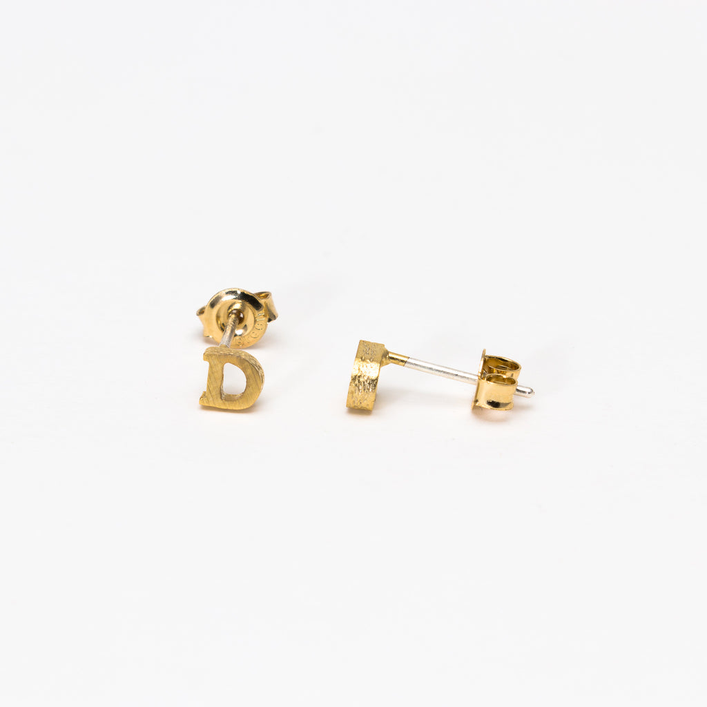 NSC - Initial D Stud Earrings