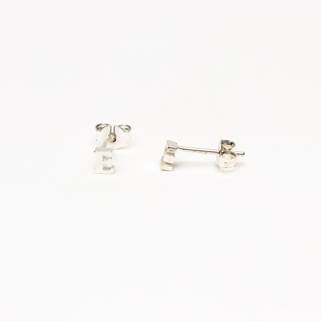 NSC - Initial E Stud Earrings
