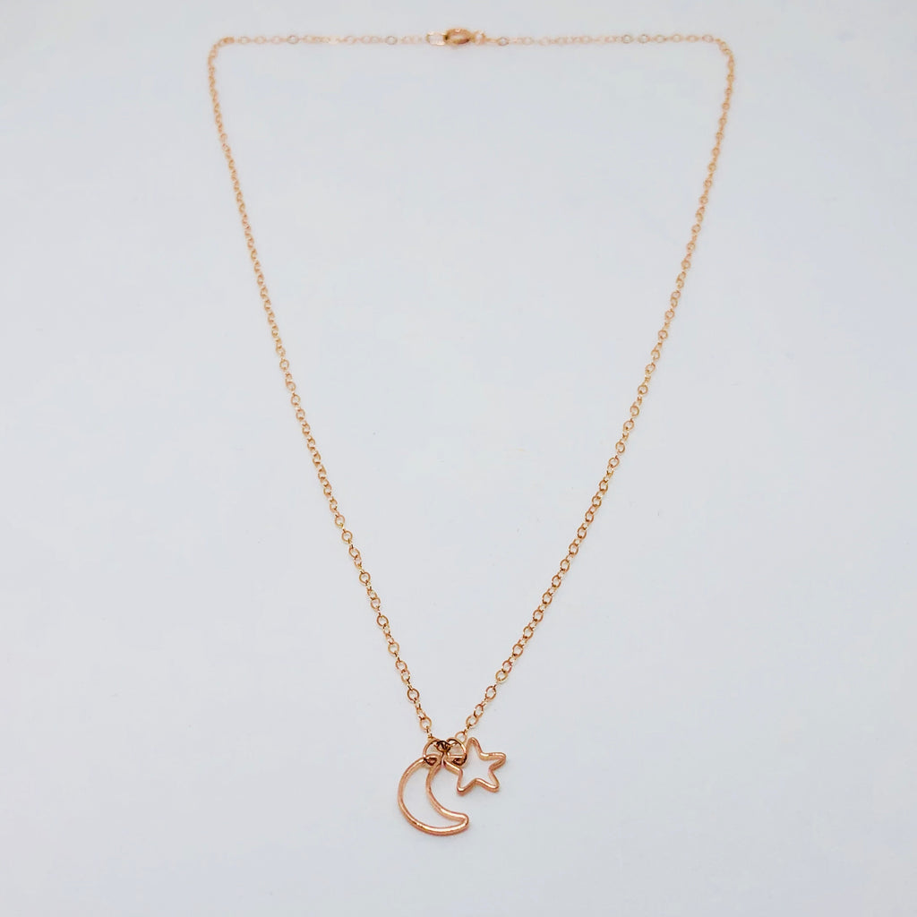 NSC - Moon and star necklace