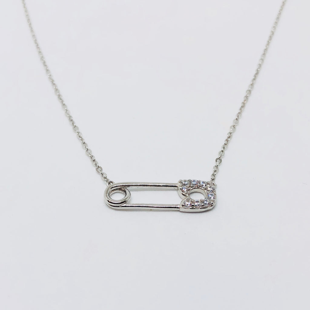 NSC - Safety pin necklace